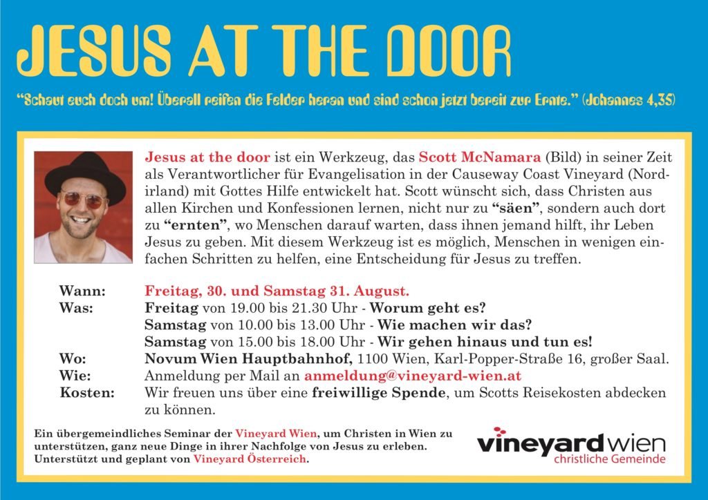 Jesus at the Door Infos